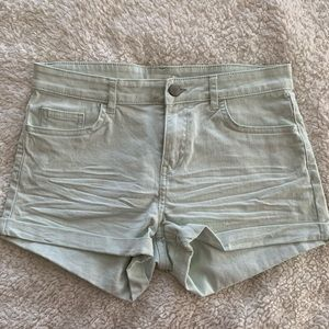 NWOT Minty White Shorts
